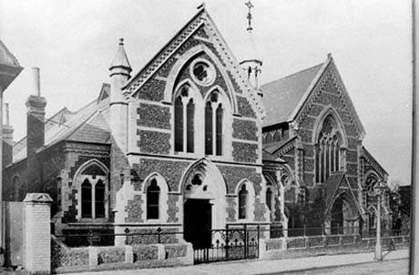 Historial pictures of Hertford URC New Hall Church c1892